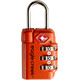 Eagle Creek Travel Safe TSA Lock Flame Orange